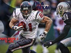 Houston Texans!! #81 Owen Daniels :-)