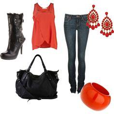 I wish I was this stylish, sadly, I'm not
