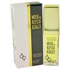 Alyssa Ashley Musk By Houbigant Eau De Toilette Spray 1.7 Oz