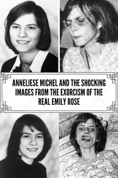Though many may not know it, the horrifying events of the 2005 film The Exorcism of Emily Rose were not entirely fictional but rather were based on the actual experiences of a German girl named Anneliese Michel. Anneliese Michel, Emily Rose, German Girls, Girl Names, Interesting Facts, Gossip, Fun Facts, Real Life, Fashion Beauty