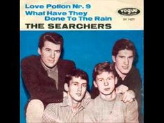 From 1964 and one of today's b'day celebrants Mike Pender singing lead - here's the The Searchers with 'Love Potion No. 9'