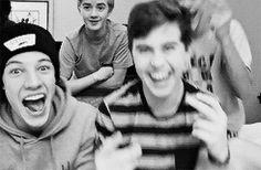 "Imagine face timing Nash. You:""I have to go"" Nash: ""Ok, I-I, I love you"" You smile as the boys tease him after saying it."