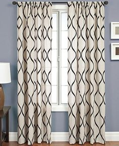 Softline Window Treatments, Pavilion 55 x 84 Panel - Curtains & Drapes - for the home - Macys