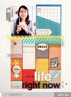Life Right Now - @Studio Calico Yearbook & Calico v.3