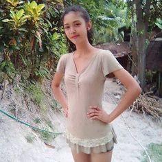 Kristel Mae  Delvalle Young Phillipino Filipina Beautiful Model based in Manila Phillipines