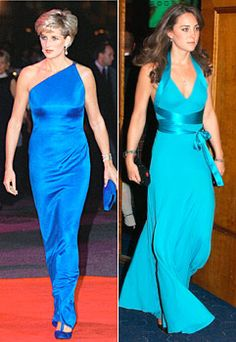 Princess Diana and Kate Middleton... the two most important women in Prince William's life.