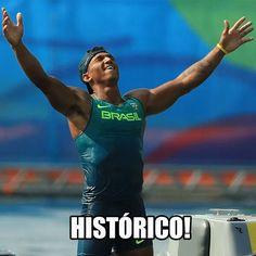 Hashtag #MiTo no Twitter > Isaquias Queiroz para a história! O primeiro brasileiro a conquistar três medalhas em uma Olimpíada! Parabéns #mito!