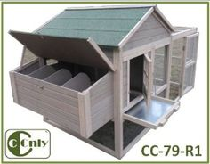 CC-79R1 With Run CCONLY Products Chicken Coop Backyard Rabbit Hutch Hens House