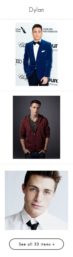 """""""Dylan"""" by piradical ❤ liked on Polyvore featuring colton haynes, people, arrow, colton, male, guys, men, teen wolf, boys and imagenes"""