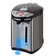 Secura Electric Water Boiler and Warmer LCD Digital Control w Night light 1810 Stainless Steel Interior 4 Quart *** Learn more by visiting the image link.Note:It is affiliate link to Amazon.