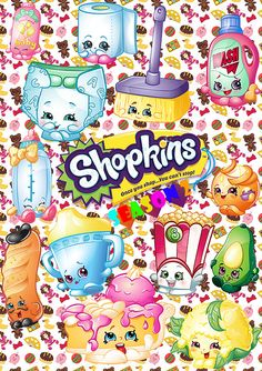 48 ClipArt Shopkins Seaeon 2 / Digital by PenguinArtStudio on Etsy Shopkins Art, Shopkins World, Shopkins Ideas, Shopkin Coloring Pages, Shopkins And Shoppies, Profile Wallpaper, Ideas Para Fiestas, Barbie House, Rose Buds