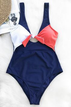 Cupshe Magic Spell Bowknot One-piece Swimsuit