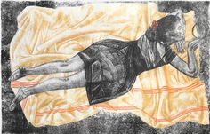 Agathe May - Paysage allongé, 2011