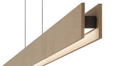 Glide Linear Suspension by Edge Lighting