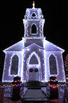 Gothic Christmas, Upper Canada Village, Ontario