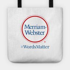 Merriam-Webster - TeePublic Store | TeePublic