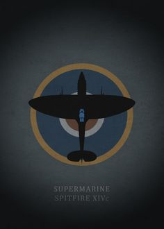 "Beautiful ""Supermarine Spitfire XIVc"" metal poster created by Rockstone . Ww2 Aircraft, Fighter Aircraft, Military Aircraft, Fighter Jets, War Thunder, Airplane Art, Supermarine Spitfire, Aviation Art, Military Art"