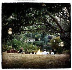 campfire wedding,