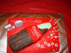 Coke Birthday Cake!
