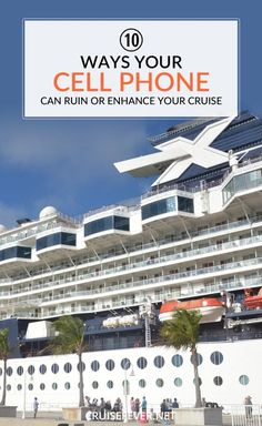 Most people go on cruises to disconnect for a while.  Even the thought of bringing a smart phone conjures up thoughts of deadlines, meetings, and schedules for some.  But for those who just can't leave those little screens behind, there are ways to make sure they don't ruin your cruise experience.