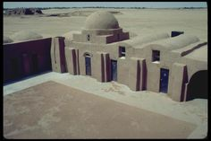 Tiles Factory Vernacular Architecture by Architect Hassan Fathy,Egypt