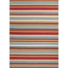 $80 Jaipur Rugs Colours I-O Red/Orange Stripe Rug