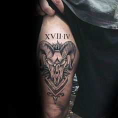 455665545 35 Creative Aries Symbol Tattoo Designs - Do You Believe in Astrology?