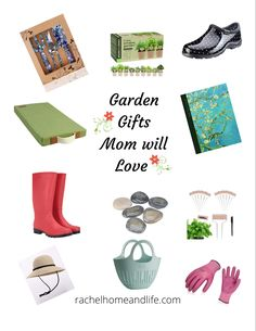 Mother's Day is all about showing Mom how much she is loved and appreciated. If your Mom loves to garden, here are some Mother's Day gift ideas she will love(speaking from a gardening lover herself)! #mothersday #mothersdaygift #mothersdayideas Homemade Gifts, Diy Gifts, Gifts For Mom, Great Gifts, 12 Days Of Christmas, Diy Christmas Gifts, Inspirational Books, Garden Gifts, Garden Projects