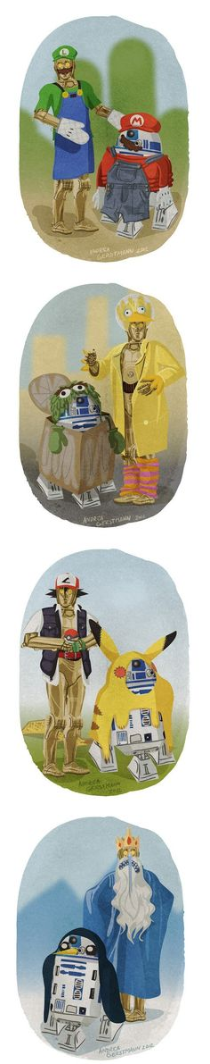 Costumes for Droids