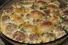 В моята кухня с мен Ваня Джорджевич: Кюфтета с млади картофи на фурна