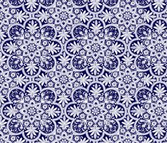 Bombay White by peacoquettedesigns on #Spoonflower