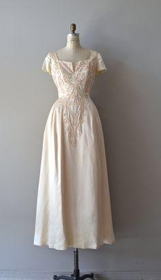 Languedoc wedding gown / 1940s wedding dress / by DearGolden