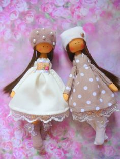 Handmade doll Tilda dolls Decorative Doll by ChernikovaNataliya