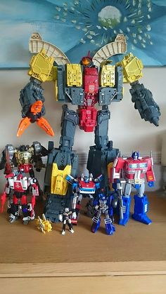 Custom Transformers G1 Omega Supreme