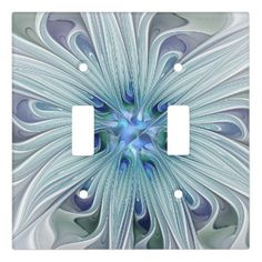 Rippling Tropical Blue Water Light Switch Cover | Zazzle.com Pastel Flowers, Pastel Colors, Glass Ceiling Lights, Flower Lights, Water Lighting, Custom Lighting, Light Switch Covers, Fractal Art, Colorful Pictures