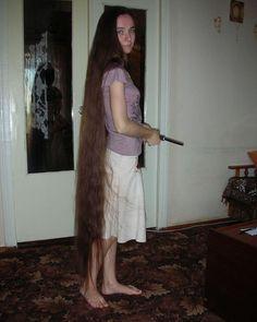 Really Long Hair, Super Long Hair, Long Hair Cuts, Long Hair Styles, Rapunzel Hair, Long Locks, Plait, Beautiful Long Hair, Dream Hair