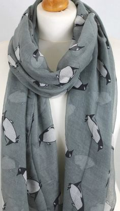 Hey, I found this really awesome Etsy listing at https://www.etsy.com/listing/214146933/grey-penguin-print-ladies-fashion-maxi