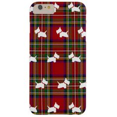 Shop Westies Case-Mate iPhone Case created by _ScottishTerrier. Iphone 6 Cases, Iphone 6 Plus Case, Iphone 7, Tartan Pattern, Cute Cases, Westies, Soft Furnishings, Create Your Own, Gifts