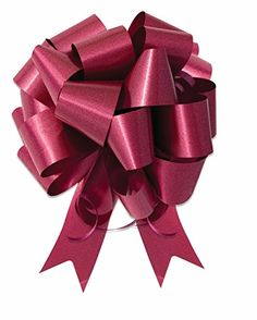 10  5 Burgundy Pull Bow Pew Bows Wedding Decorations Christmas Gift Wrap -- Read more reviews of the product by visiting the link on the image.Note:It is affiliate link to Amazon.