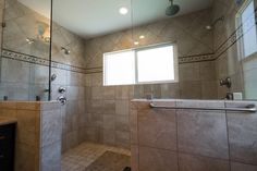 This unique shower design is a one of a kind custom design. www.choosechi.com