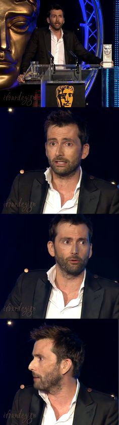 WINNER: David Tennant wins the BAFTA Scotland 2014 award for Best Actor in The Escape Artist! Well done chap! And you're eyes aren't deceiving you, he really has got his Tenth Doctor haircut back! :D