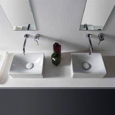 Molli lille håndvask i flot Italiensk design, til små badeværelser