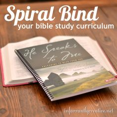 Take your softback books and get them spiral bound.