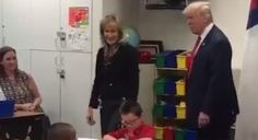 """Schoolgirl Has The Appropriate Reaction To Meeting Donald Trump: 'I Told You His Hair Wasn't Orange' - Schoolgirl Has The Appropriate Reaction To Meeting Donald Trump: 'I Told You His Hair Wasn't Orange' That's right Anna do your research next time. But the real star is the kid repeatedly chanting """"I'M NERVOUS I'M NERVOUS."""" Same here kid. Fecha: October 5 2016 at 04:58PM via Digg: http://ift.tt/2dLYqT3 - Sigueme en mi página de Facebook: http://ift.tt/1Unt1E1 - Etiquetas: Comico Curiosidades…"""