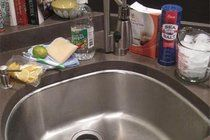 How To Clean Your Kitchen Sink | Apartment Therapy.  Mine always looks grungy!