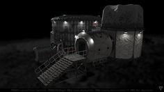 ArtStation - Allegro Moon Habitat, Rafał Bartnik
