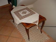 tappeto in spago tecnica macrame