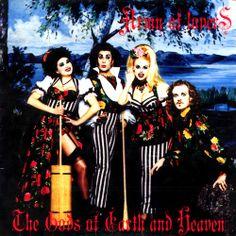 Army of Lovers - The Gods of Earth and Heaven - Alexander Bard, Jean-Pierre Barda, Dominika Peczynski & Michaela Dornonville de la Cour