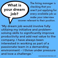 Beware tricky interview questions that can derail your interview. Use these sample interview answers to interview questions about your core values, your dream job and others Sample Interview Answers, Job Interview Preparation, Interview Skills, Job Interview Questions, Job Interview Tips, Job Interviews, Interview Nerves, Interview Quotes, Interview Techniques