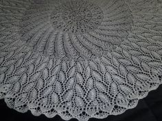 This Christening Shawl is probably top of my list...I just love the way it flows..at my Etsy Shop